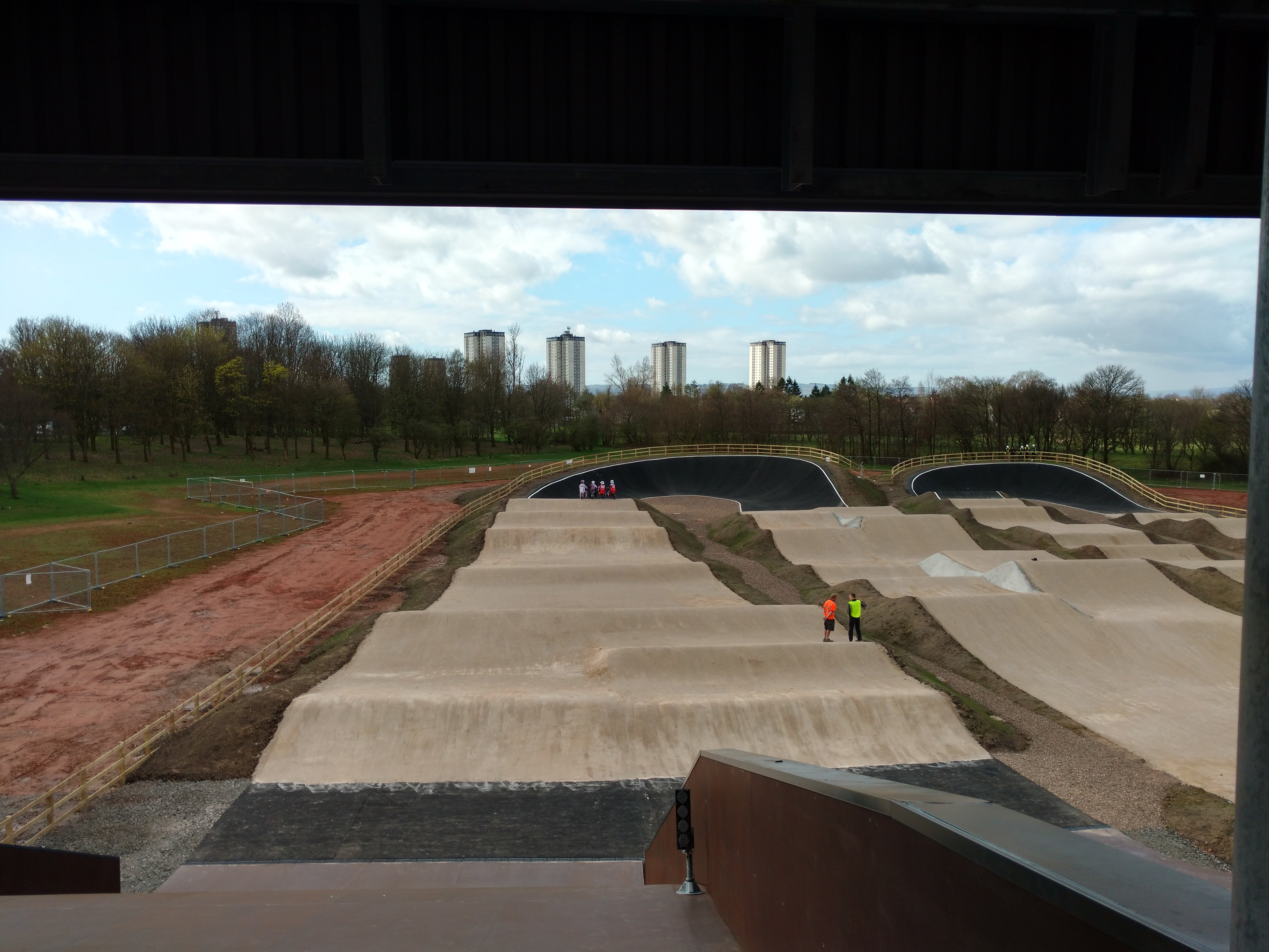 building Knightswood Track